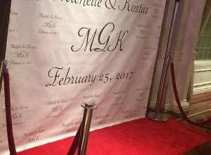 red carpet img - DJ MC Lighting photobooth Services