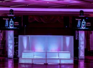 intelligent lighting - DJ MC Lighting photobooth Services